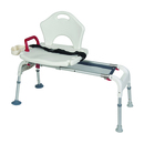 Complete Medical Supplies Transfer Bench, Universal Sliding and Folding