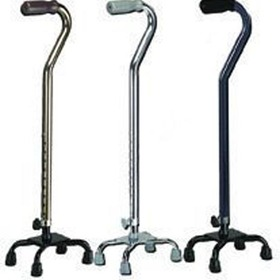 Quad Cane-Small Base Black