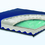 "Gel Convoluted Foam Cushion 17""x17""x3""  Navy"