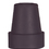 """Cane Tips In Retail Box - Fits 3/4"""" Shaft  Pk/2  Black"""