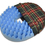 "Convoluted Foam Softeze Ring 18? x 15 1/8"", Plaid Cover"