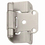 Amerock BP7550G10 Hinge, Satin Nickel