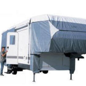 Classic Accessories 75763 PolyPro III Deluxe 5th Wheel Cover, 37' to 41'L 5th Wheels