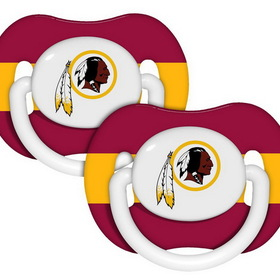 Washington Redskins Pacifiers - 2 Pack