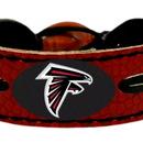 Atlanta Falcons Team Color Football Bracelet