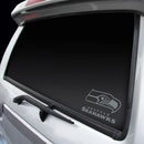 Seattle Seahawks Decal Chrome Window Graphic