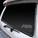 Cleveland Indians Decal Chrome Window Graphic