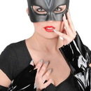 RUBIES COSTUME 17123 Catwoman Mask, Gloves, and Nails Blister Kit