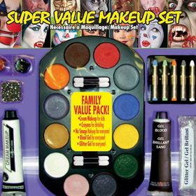 RUBIES COSTUME 19317 Super Value Family Makeup Kit