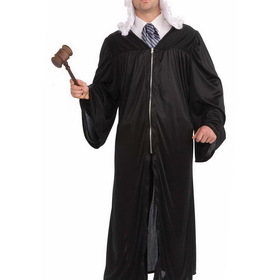 FORUM NOVELTIES 32003FR Judge Robe Adult Costume
