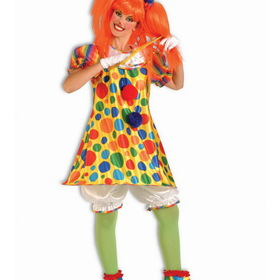 FORUM NOVELTIES 60493F Giggles the Clown Adult Costume