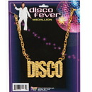 FORUM NOVELTIES 61929 Gold Disco Necklace