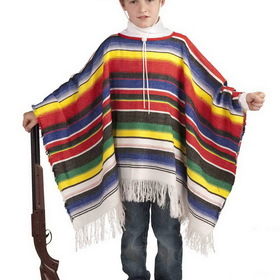 FORUM NOVELTIES 65699F Child's Mexican Poncho Costume