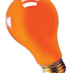 RUBIES COSTUME 9783R Blacklight Bulb Orange 75 Watt