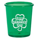 St. Patrick's Day Shot Glass (Each)