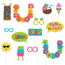 Summer Luau Photo Props