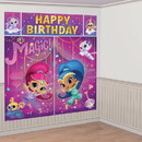 Shimmer and Shine Scene Setter Wall Decorating Kit