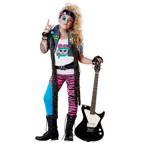 CALIFORNIA COSTUME COLLECTIONS CC00348-L Girl's Glam Rocker Costume