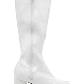 E175-DORAW-XL White Patent Gogo Boot Child