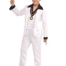 FORUM NOVELTIES F67829-S Boy's 70's Disco Fever Costume