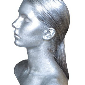 Graftobian GR98647 Metal Mania Silver Face/body Makeup