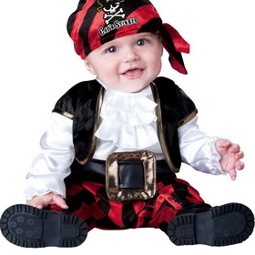 IC16016-M Infant Toddler Cap'n Stinker Pirate Costume