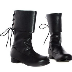 PL3409BK-XS Black Buccaneer Boot Child
