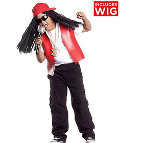 Party King PPK80C-S Boys Lil' Hip Hop Star Costume