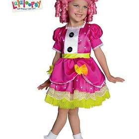 R881368-M Girl's Deluxe Lalaloopsy Jewel Sparkles Costume