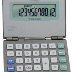 Adler Royal XE12 Handheld Basic Calculator