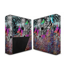 DecalGirl Microsoft Xbox 360 E Skin - Butterfly Wall (Skin Only)