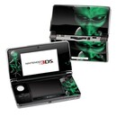 DecalGirl N3DS-ABD-GRN Nintendo 3DS Skin - Abduction (Skin Only)