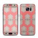 DecalGirl SAGS7-SOFTCORAL Samsung Galaxy S7 Skin - Soft Coral Ithaca (Skin Only)