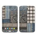 DecalGirl Samsung Galaxy Tab 3 7in Skin - Country Chic Blue