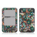 DecalGirl Kindle Keyboard Skin - Crazy Daisy Paisley (Skin Only)