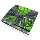 DecalGirl PS3 Slim Skin - Emerald Abstract (Skin Only)