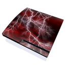 DecalGirl PS3 Slim Skin - Apocalypse Red (Skin Only)