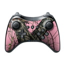 DecalGirl Nintendo Wii U Pro Controller Skin - Break-Up Pink (Skin Only)
