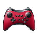 DecalGirl Nintendo Wii U Pro Controller Skin - Solid State Red (Skin Only)