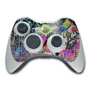 DecalGirl Xbox 360 Controller Skin - Butterfly Wall (Skin Only)