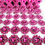 Aspire Pink Diamond Mesh Ribbon, Diamond Centerpieces, Diamond Party Decorations 10 Yards