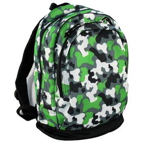 Wildkin 14088 Camo Sidekick Backpack, Green