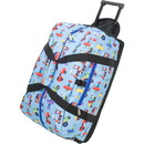 Wildkin 51079 Olive Kids Trains, Planes and Truck Good Times Rolling Duffel Bag