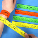 GOGO Smile Face Slap Bracelets, Accessories for Kids