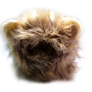 TopTie Pet Costume Lion Mane Wig, Pet Lion Mane Wig for Cat & Dog Halloween Clothes, Fancy Dress up with Ears