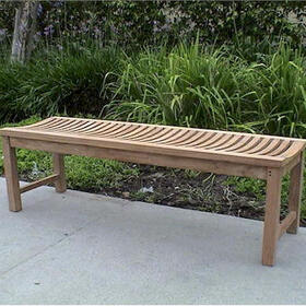 "BH459B Casablanca 59"" Backless Bench"