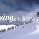 Window Graphic - 16x54 Skiing is Believing with Text