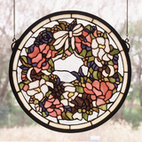 15W X 15H Wreath Window