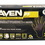Sas Safety 66518 Raven Nitrile Large Black Powder-free Gloves
