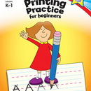 Carson Dellosa CD-104349 Printing Practice For Beginners Home Workbook Gr K-1